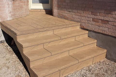 Britannia Rd, Mississauga ON – Front Concrete Steps Restoration