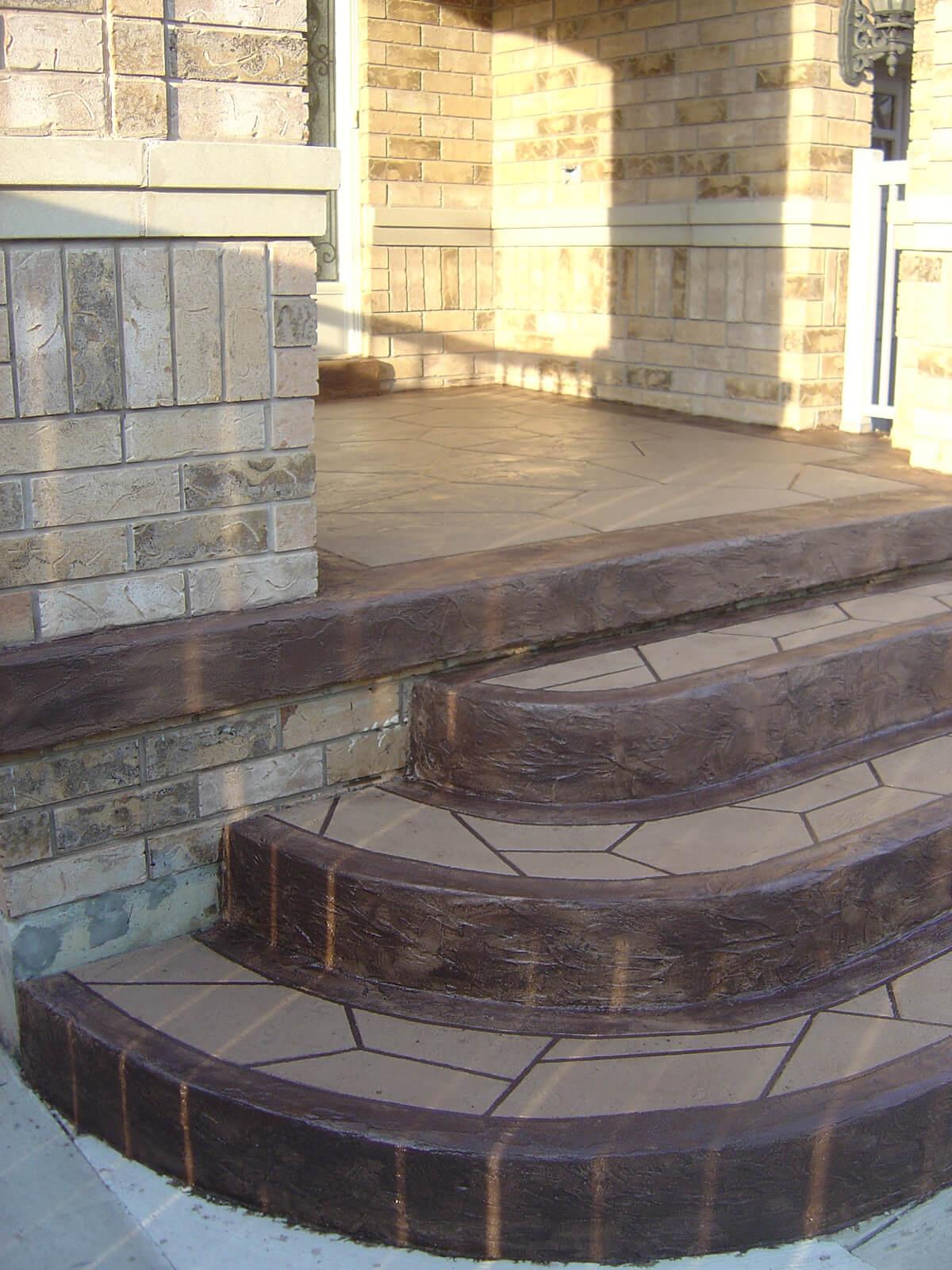 Concrete Steps Resurface Repair
