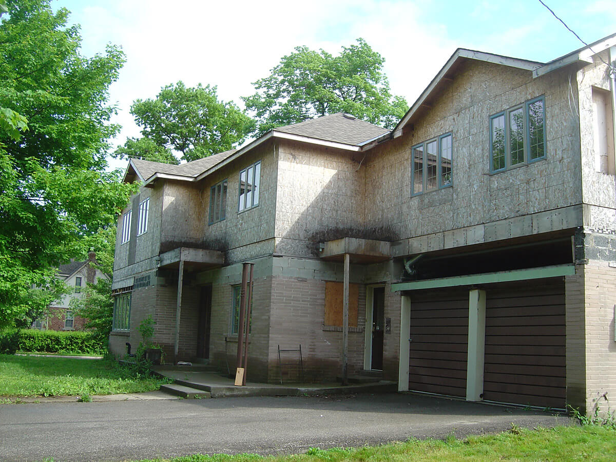 Before Stone and Stucco - Home Renovation and Restoration