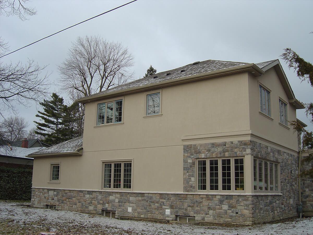 Home Stucco Finish