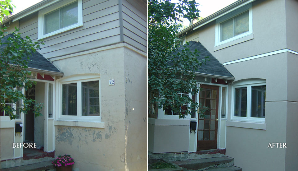 Stucco Siding Repair and Restoration - Toronto, Mississauga