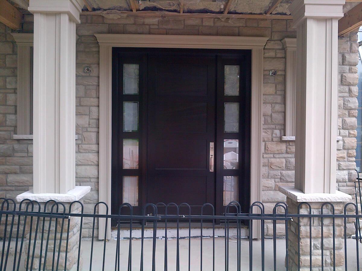 Exterior stone repair