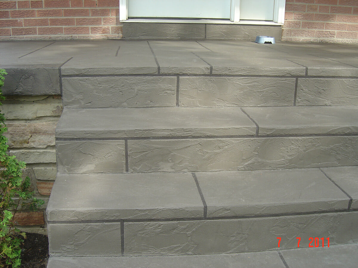 Decorative Concrete Application - Jewel Stone