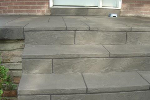 Scottsbury Cres, Mississauga – Front veranda and steps concrete restoration