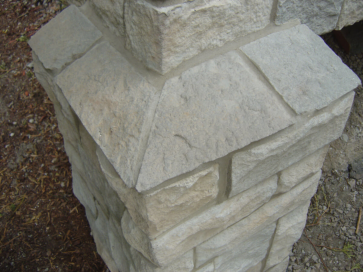 Exterior Natural Stone Finish