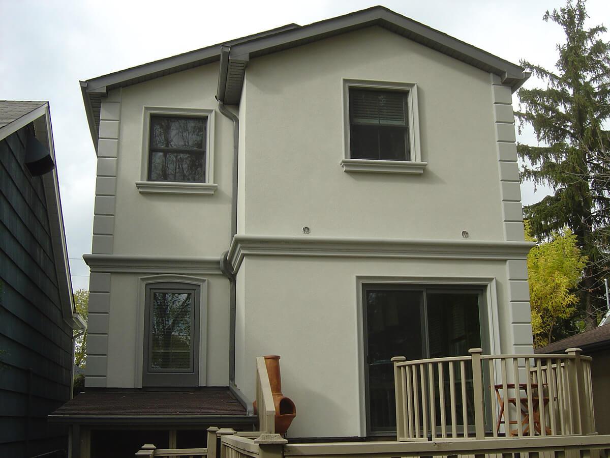 House Stucco Design Idea
