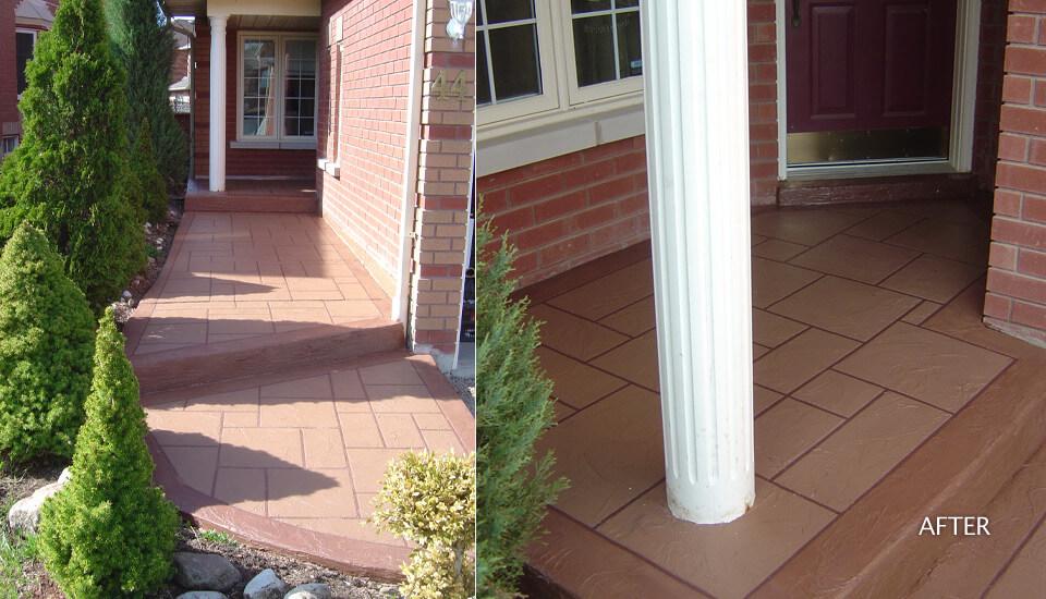 Repair House Concrete Walkway