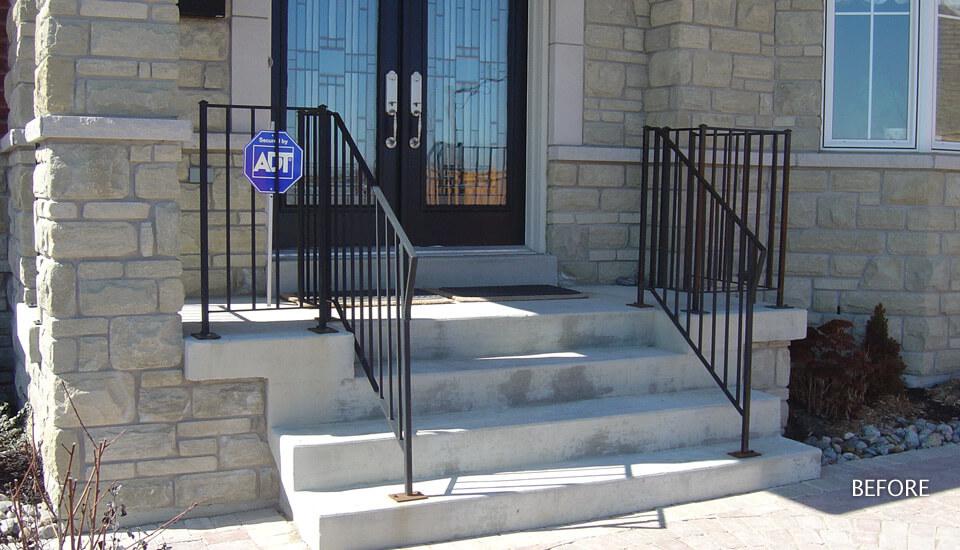 Concrete Steps & Stairways