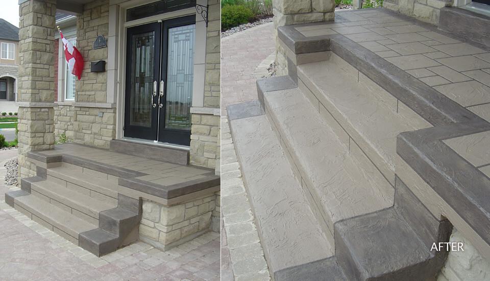 Concrete Step Restoration