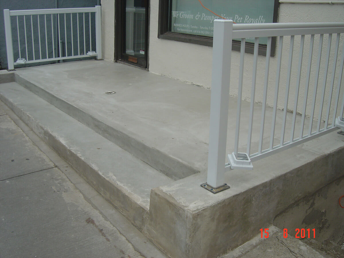 After Concrete Repair and Restoration