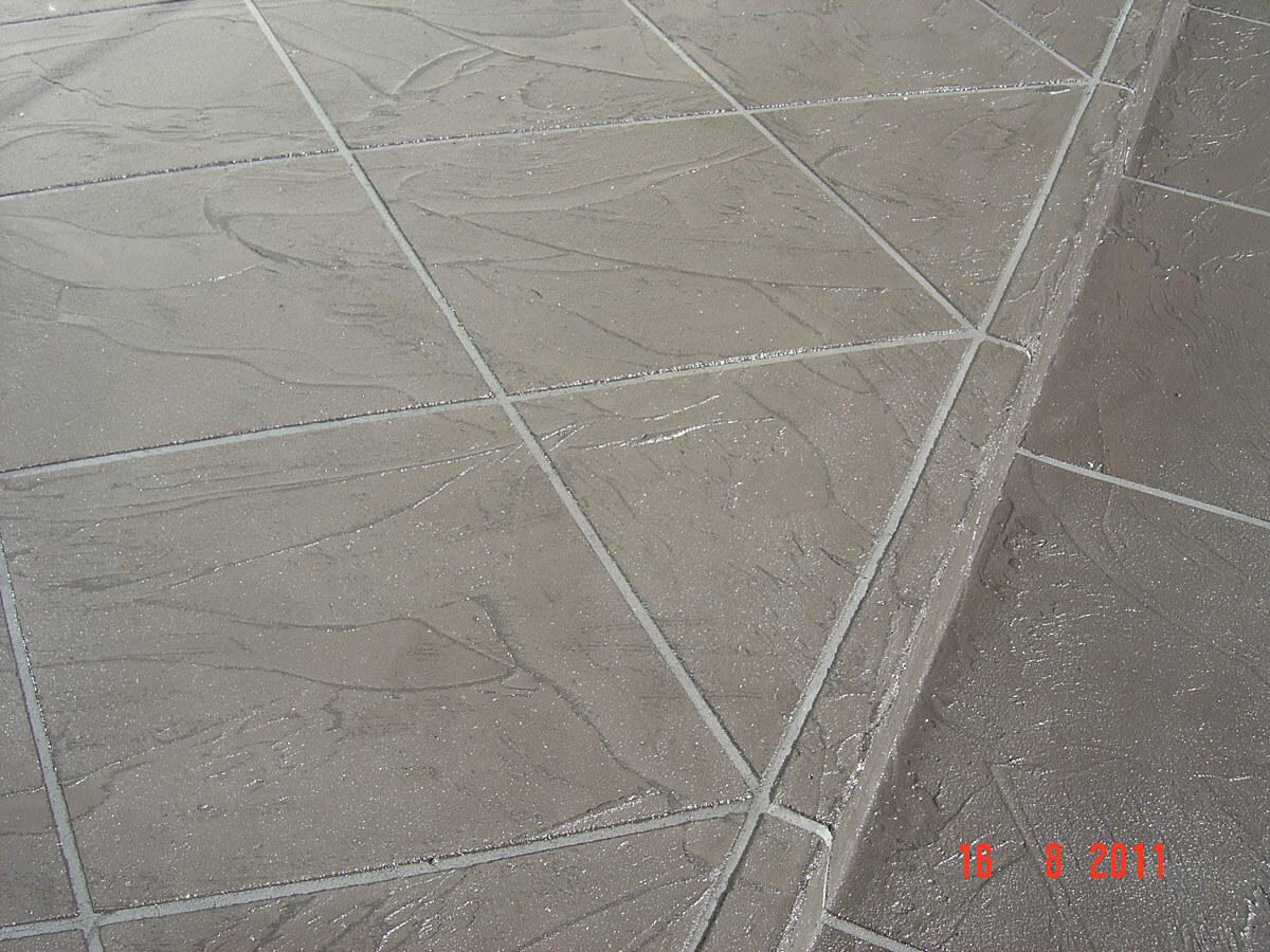 Concrete Repair and Restoration - Decorative Cement Overlay - NonSlippery