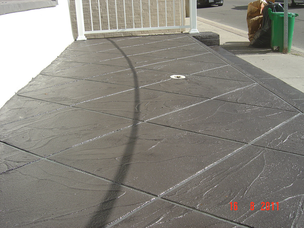 Non Slippery Concrete Cement Overlay - Repair and Restoration
