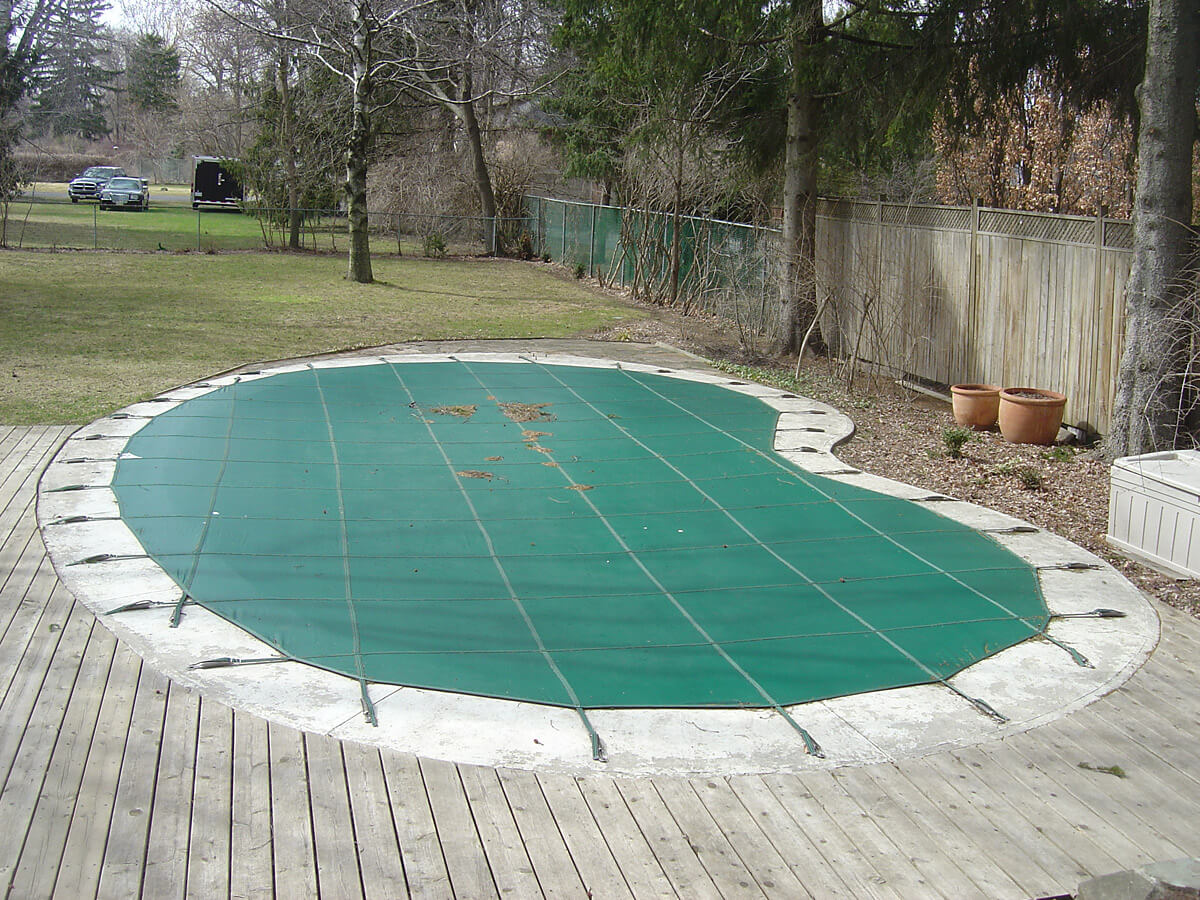 Before - Swimming Pool Deck Restoration