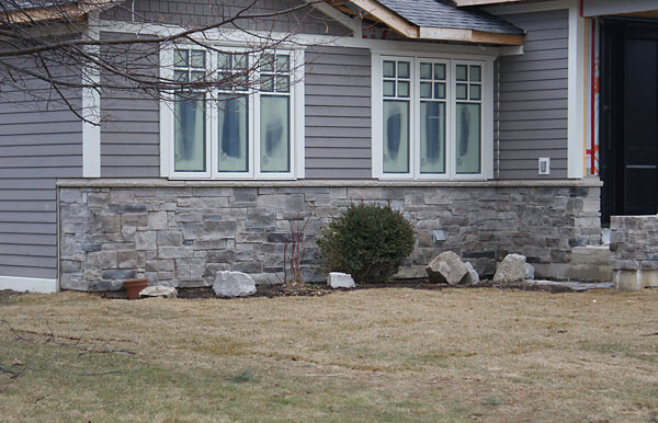 Truscott Dr Oakville Bungalow Stone And Stucco