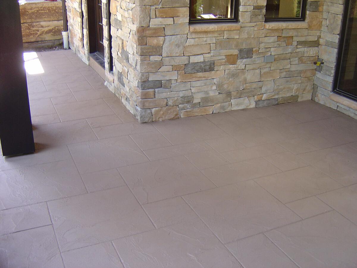 Steps coated with Jewel Stone