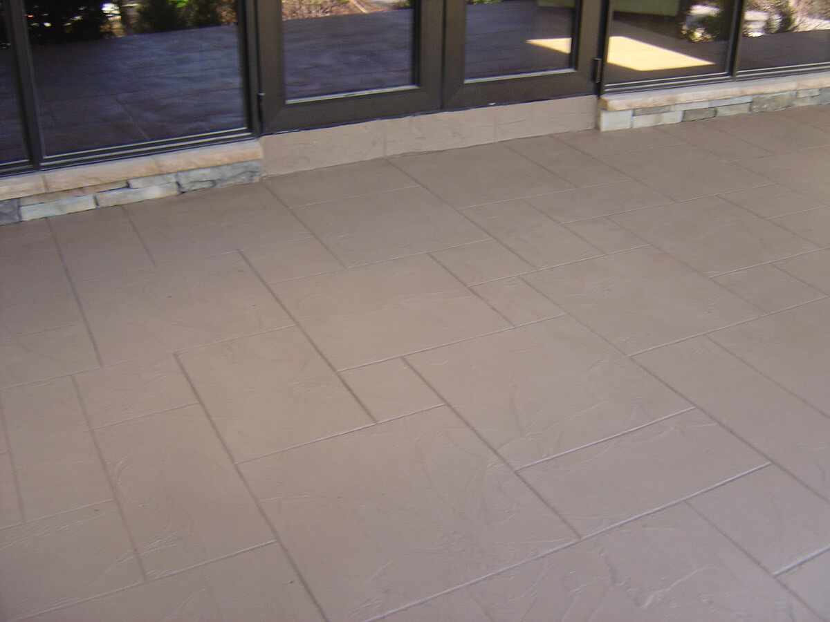 Decorative Concrete Cement Porch