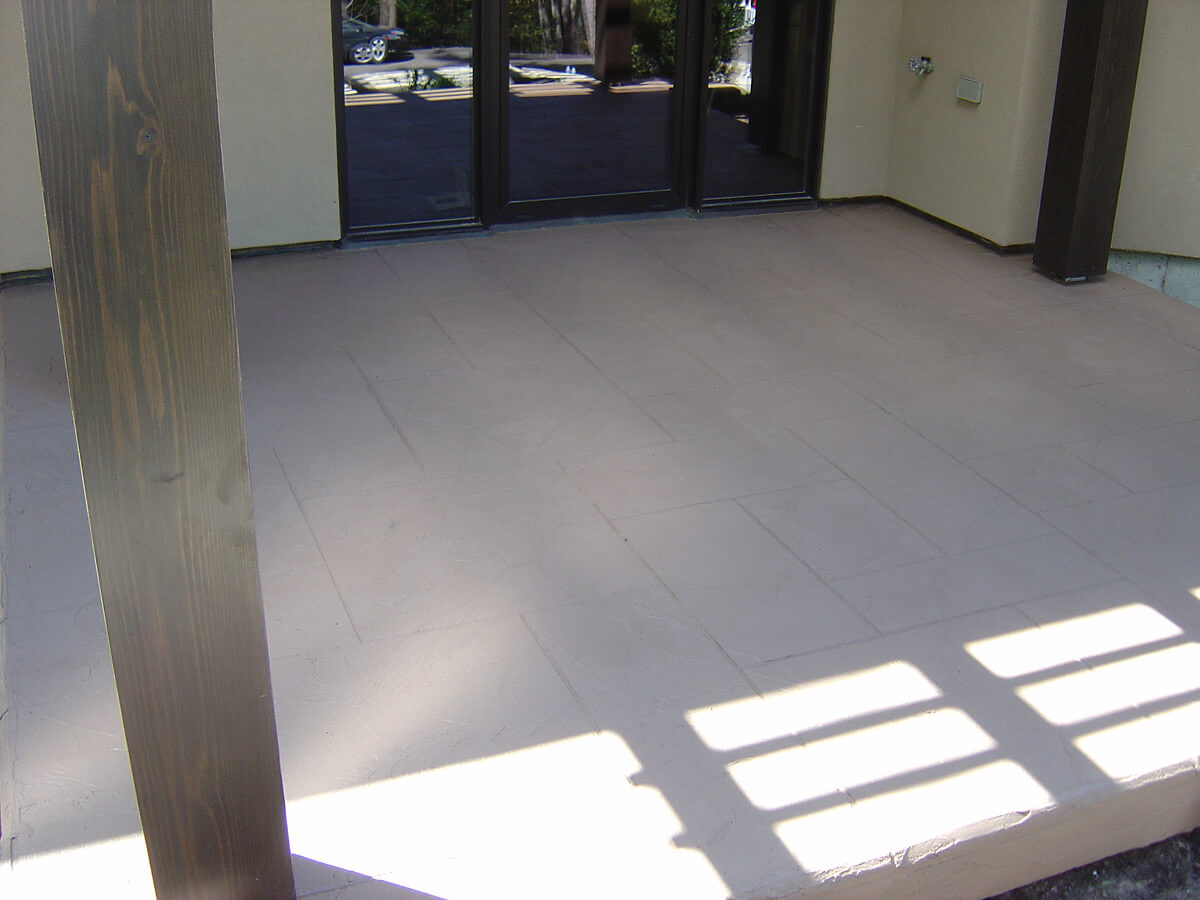 Steps, porch and walkway concrete resurfacing cement