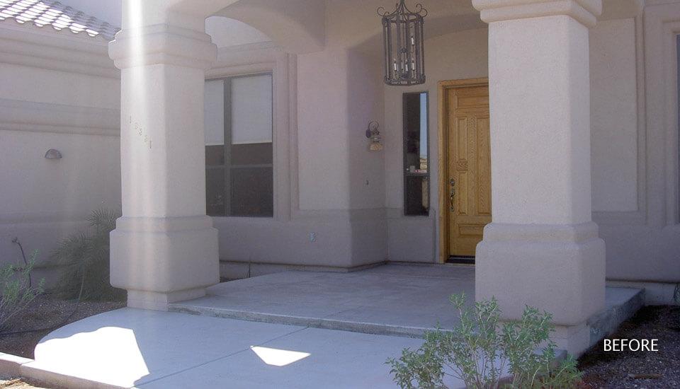Concrete Steps Before Sierra Stone Application