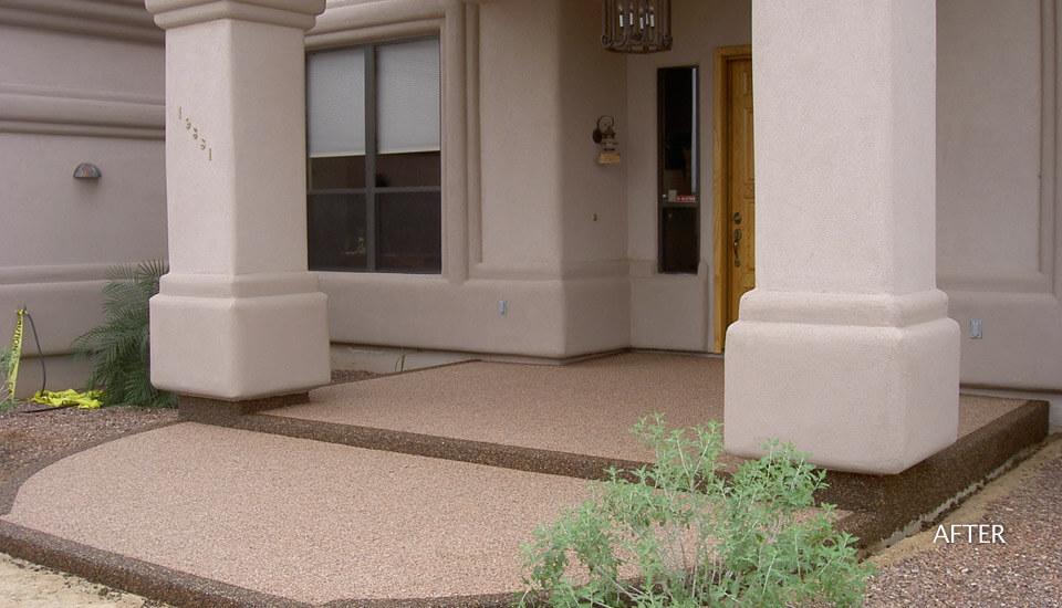 Front Entrance - Steps - Sierra Stone