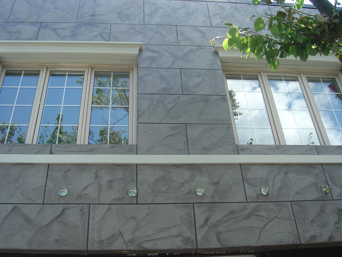 Exterior Store Front - Decorative Stone Veneer in Toronto