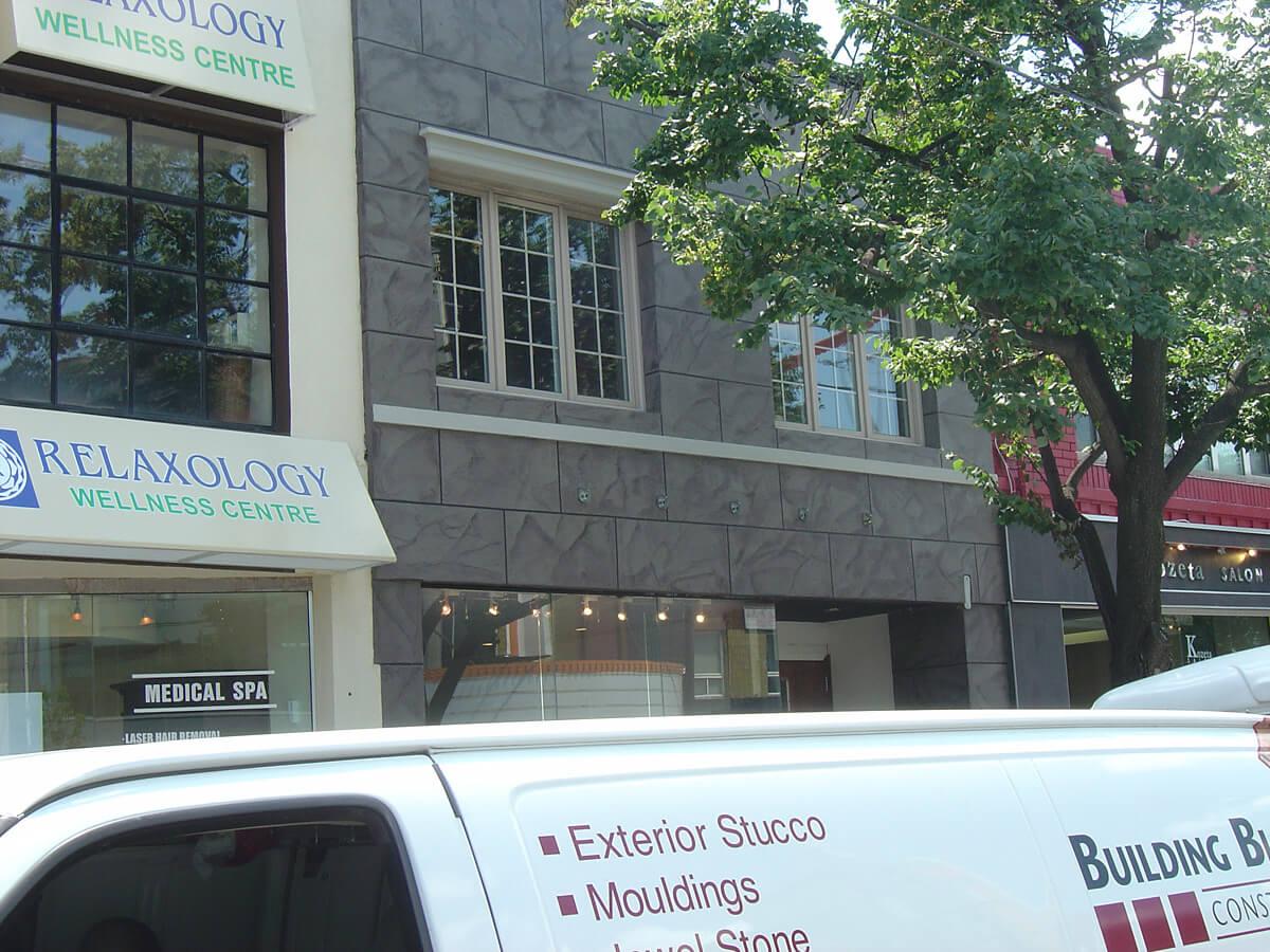 Exterior Store Front - Decorative Stone Veneer Ideas