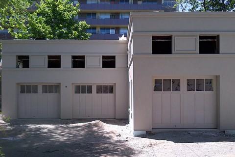New Building Exterior Stucco Finish – Toronto, Ontario