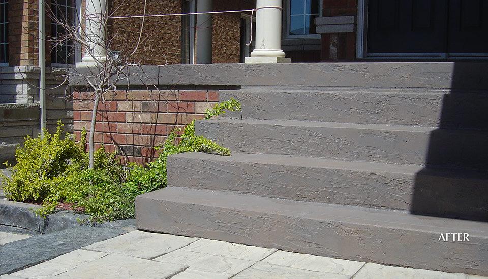 Concrete Steps Restoration